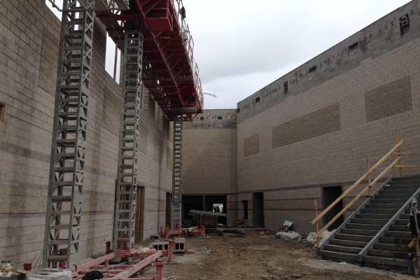 SHS north side of commons