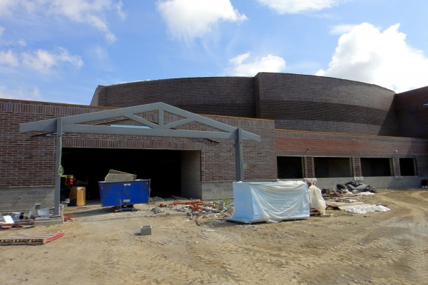 SHS auditorium entrance