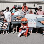 Members of the Skyridge Administration and their families with FLASH